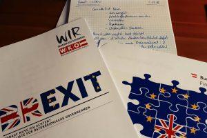 Brexit-Veranstaltung in der Wirtschaftskammer Wien