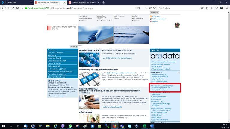 Screenshot_USP-Meine-Services